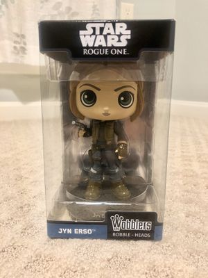 Funko Wobbler: Star Wars Rogue One - Jyn Erso Action Figure for Sale in Columbia, MD