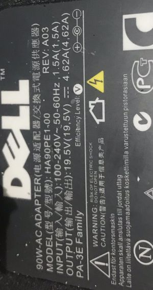 Dell laptop charger for Sale in La Porte, TX
