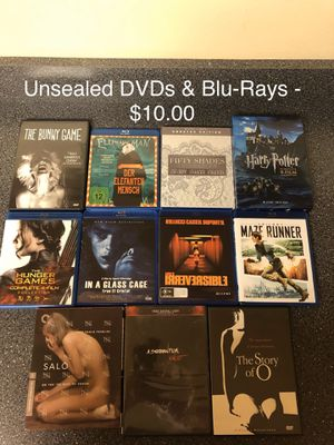 DVDs and Blu-Ray Lot for Sale in KNG OF PRUSSA, PA