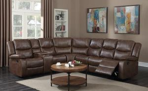 Brand New Brown Recliner Sectional for Sale in Austin, TX