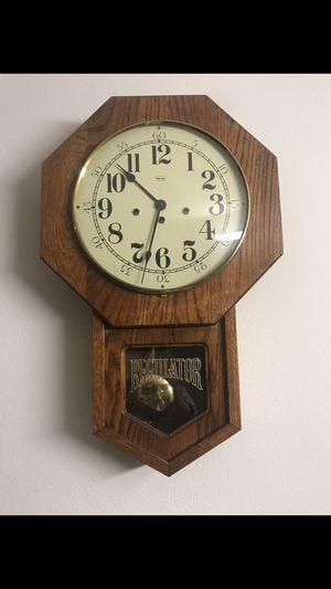 Antique oak clock vintage for Sale in Portland, OR