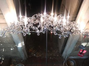 Auford crystal chandelier for Sale in Redwood City, CA