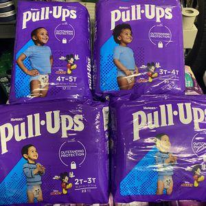 Huggies Pull ups Diapers for Sale in Artesia, CA