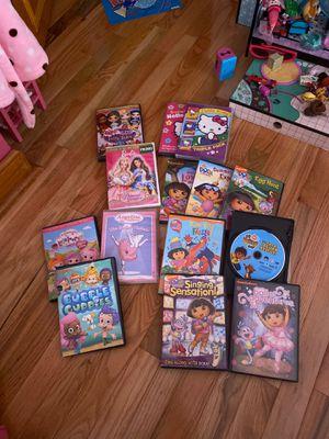 Kid DVDs (all 14 for $30) for Sale in West Orange, NJ