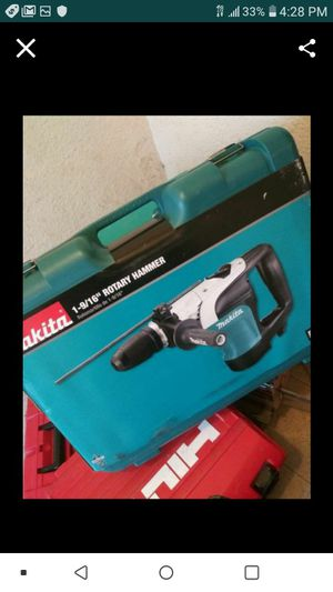 """MAKITA HR4002 SDS MAX ROTARY HAMMER KIT 1 9\16"""" NEW NUEVO✌🙏🙏💪💪💪 for Sale in Paradise, NV"""