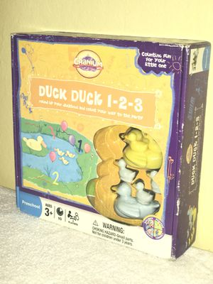 (Kids counting game) Duck duck 1-2-3 Ages 3+ for Sale in Hayward, CA