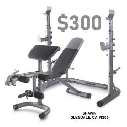 Weight Bench & Squat Rack Combo for Sale in Glendale,  CA