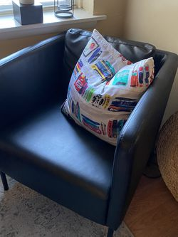Faux Leather Armchair - Accent Chair for Sale in Philadelphia,  PA