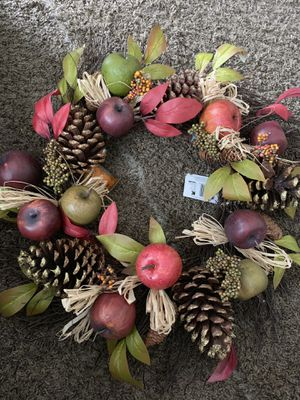 Fall holiday wreath. —New for Sale in Middleburg Heights, OH