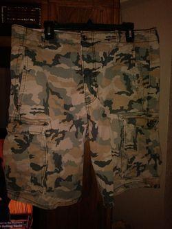 Mens Denim Camo Shorts for Sale in Marysville,  WA