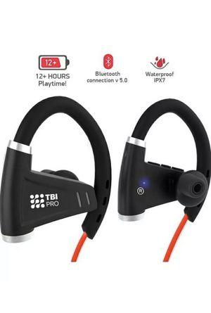 TBI Pro Wireless Headphones U9 IPX7 Waterproof Music Earbuds for Gym, Running for Sale in Los Angeles, CA