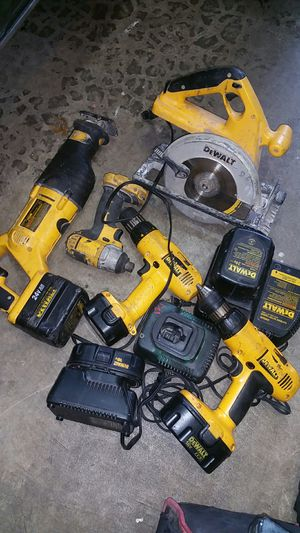 Older Dewalt 18v tools for Sale in Seattle, WA