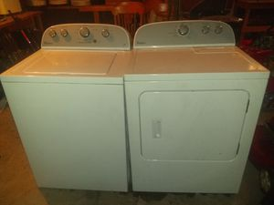 2014 whirlpool electric dryer & washer matching set for Sale in Medina, OH