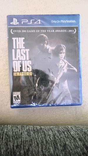 The last of us ps4 for Sale in Glendale, AZ