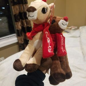 Rudolph and Clarice Stuffed Animals for Sale in Brooklyn, NY