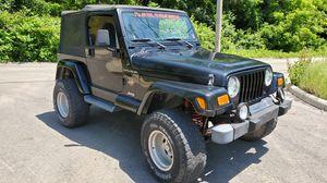 "2002 JEEP WRANGLER SAHARA TJ ""Low Miles 75k"" for Sale in Columbus, OH"