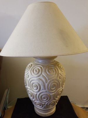 Lamp- Large beige for Sale in Revere, MA