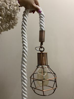 Industrial lamp /hanging/ copper for Sale in Rockville, MD