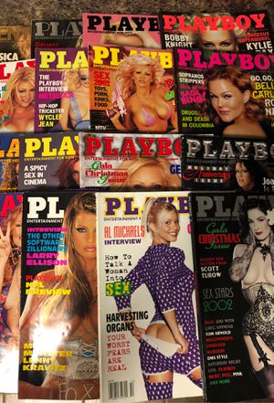 15 volumes of playboy magazines 1 retro penthouse for Sale in Morrisville, NC