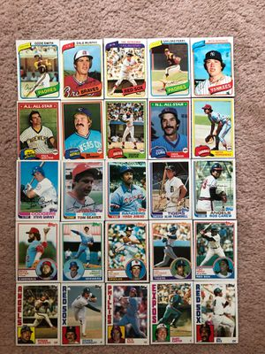 Baseball Cards - Topps Hall of Fame & Star Players 1980 - 1984 for Sale in Princeton, NJ