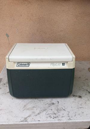 Flip lid coleman cooler for Sale in Los Angeles, CA