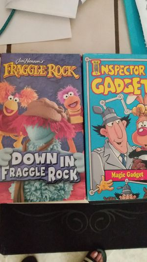 Fraggle Rock and Inspector Gadget VHS for Sale in Orcutt, CA