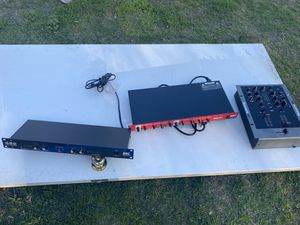 Dj equipment $100 for the red nonnegotiable the $50 each for Sale in Turlock, CA