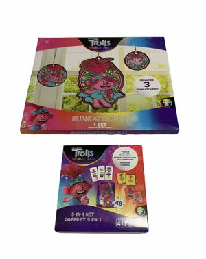 CHRISTMAS GIFT SET FOR GIRL 3+ & 4+ TROLLS WORLD TOUR for Sale in Gaithersburg, MD