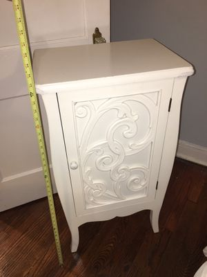 Shabby chic white chest for Sale in Washington, DC