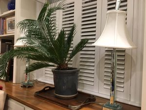 Pair of mirrored candlestick Lamps for Sale in Alexandria, VA