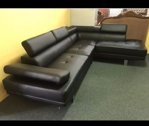 Sectional Sofa. Brand New in Box. (No Credit a check Financing) for Sale in Hialeah, FL
