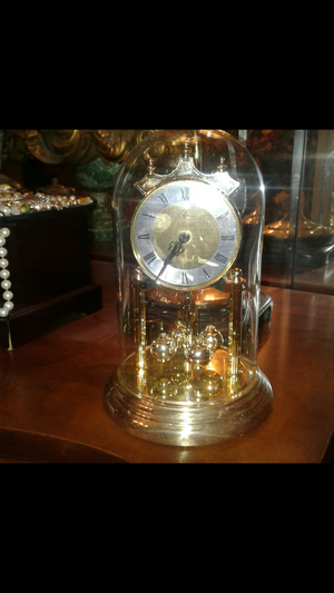 Elgin glass domed clock for Sale in Columbia, SC