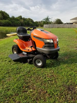 "Husqvarna YTH21K46 Riding Lawn Mower. Kohler 21Hp. 46"" Cut. Runs Great for Sale in Gibsonton, FL"