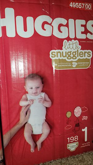 Diapers Size 1 Huggies for Sale in Phoenix, AZ