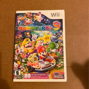 Marioparty9 For Nintendo Wii for Sale in Memphis, TN