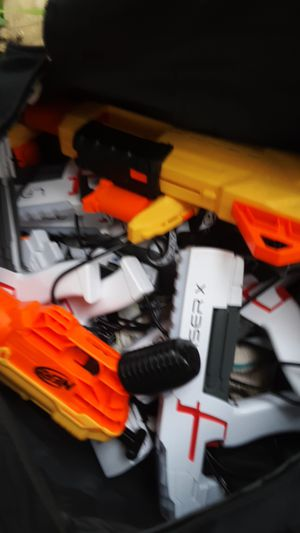 Nerf and laser guns for Sale in Bangor, MI