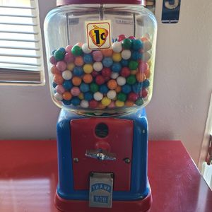💥Vintage 1cent Gumball Machine💥 for Sale in Palm Desert, CA