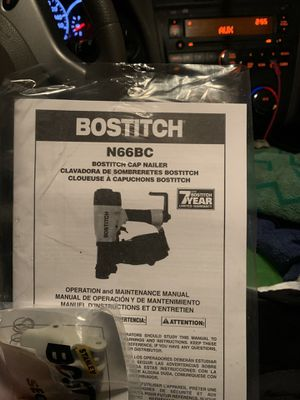 Brand new nail gun don't have the charger for Sale in Conyers, GA