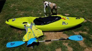 Riot Magnum 72 creek kayak! for Sale in Spokane, WA