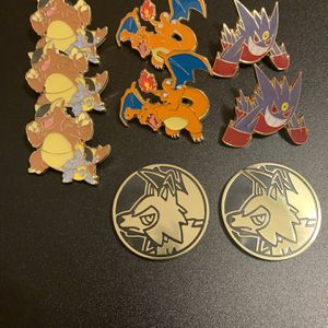 Pokemon Pin And Coin Lot for Sale in San Antonio, TX