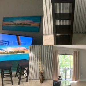 Decor, art, shelving and curtains! All $25/each! for Sale in Pembroke Pines, FL