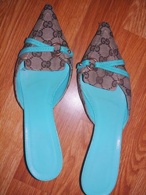 Gucci kitten heel shoes for Sale in Wendell, NC