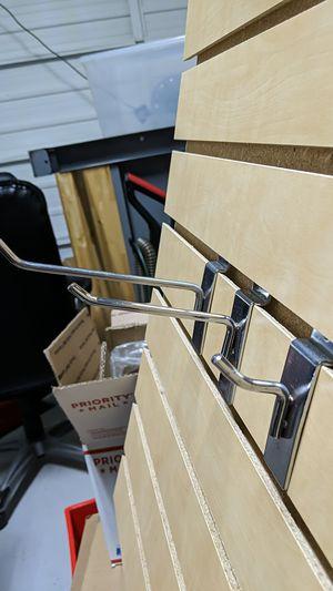 Peg hooks for a slatwall for Sale in Boca Raton, FL