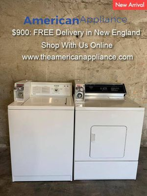 Kenmore/Whirlpool Coin Op Washer and Dryer Set, FREE Delivery! for Sale in Cranston, RI