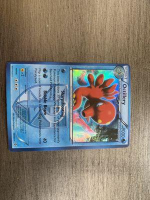Octillery Pokemon 2013 Edition 19/101 No.224 Team Plasma Shiny for Sale in Temecula, CA