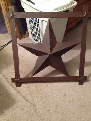 Metal star for Sale in Irons, MI