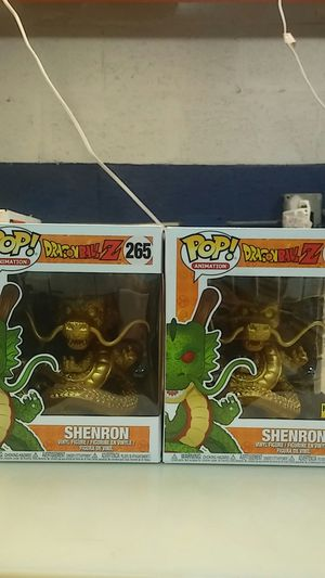 Funkp pop dragonball z golden shenron hot topic exclusive 6 inch pop figure for Sale in Pompano Beach, FL