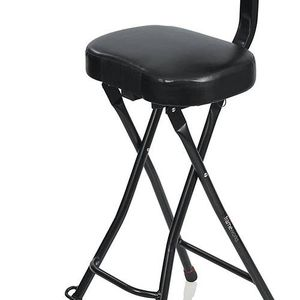 GATOR FRAMEWORKS GUITAR SEAT WITH PADDED CUSHION, ERGONOMIC BACKREST AND FOLD OUT GUITAR STAND 301167 for Sale in Peoria, AZ