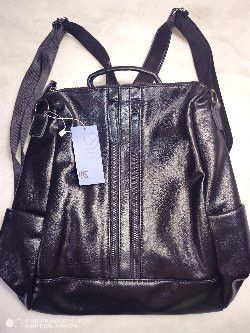 Black leather backpack for Sale in Henderson, NV