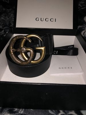 GG Gucci Snake Belt 100% Authentic for Sale in Sacramento, CA